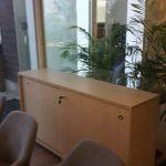 ארון משרדי עם דלתות הזזה