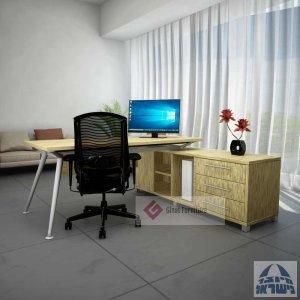 שולחן מנהל עם שלוחה דגם ספיידר